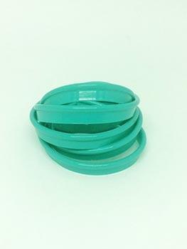 Vivo Plástico 11mm Verde Bebê