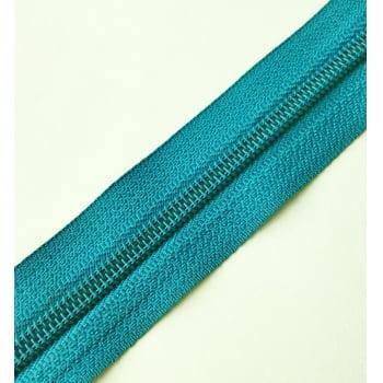 Ziper de Metro nº5 Grosso Azul Médio