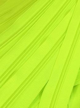 Zíper de Metro nº5 Grosso Verde Limão