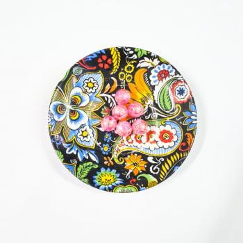 Bola Lisa Boreal Rosa (Pcte com 6)