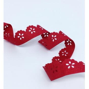 Bordado Mini Lasynha Vermelho