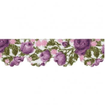Mini Lasynha Est. Rosas Lilas Cor 956