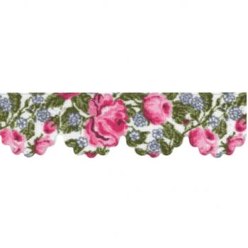 Mini Lasynha Est. Rosas Pink Cor 955