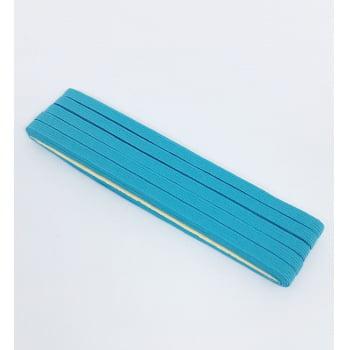 Elástico Chato Azul Turquesa 7mm