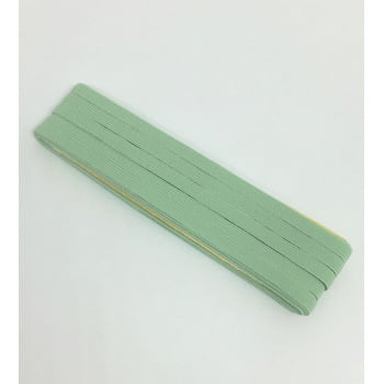 Elástico Chato Verde Água 7mm