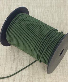 Elástico Roliço Verde Musgo