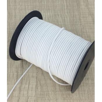 Elástico Roliço Branco 2,6mm