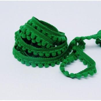 Mini Pompom Verde Bandeira