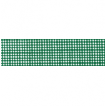 Viés Aberto Est. Xadrez Verde Escuro 35mm