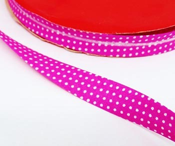 Vies Fino Poá Branco FD Pink
