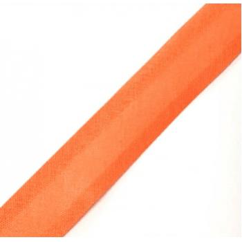 Viés Liso Laranja Cor 037 (Rolo com 20 metros)