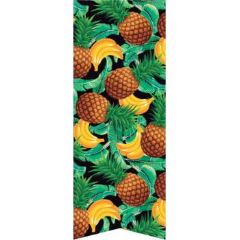 Viés Popeline Kitchen 25mm 10 metros Frutas Tropicais Fd Preto Cor 362