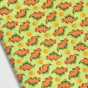 Tecido Digital Dino Stegosaurus