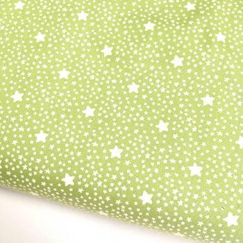 Tecido Estrelado Grama (Coleção Estrelinhas Basics & Colors)