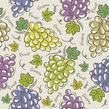 Tecido Grapes (Coleção Modern Kitchen)