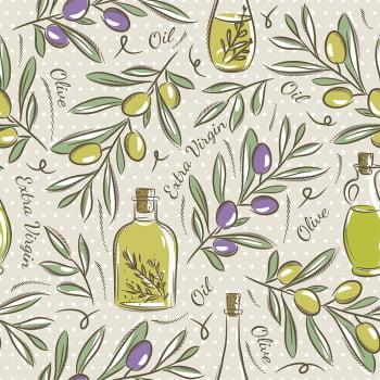 Tecido Olive Oil  (Coleção Modern Kitchen)