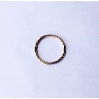 Argola Soldada 4,5cm Dourado