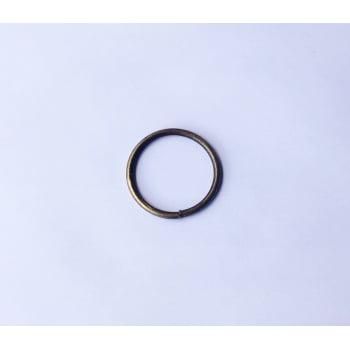 Argola Soldada 4,5cm Ouro velho