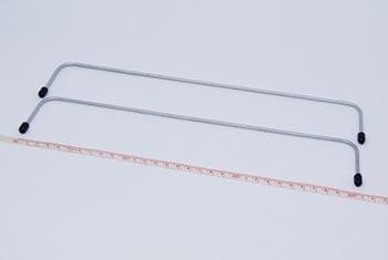 Armação Boca de Lobo 30cm (Par)