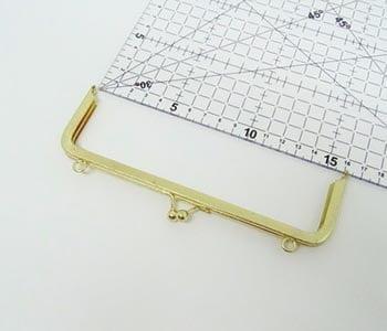 Fecho da Vovó para Bolsa com Alça 16cm Dourado