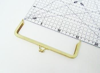 Fecho da Vovó para Bolsas 16cm Dourado