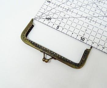Fecho da Vovó para Bolsas com Furos 12cm Ouro Velho