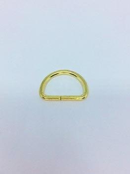 Passador de Alça Meia Argola 2,5cm Dourado