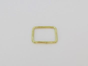 Passador de Alça Quadrado 2cm Dourado