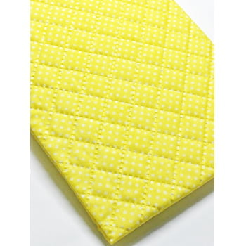 Matelassê Ult. Bolinha Amarelo