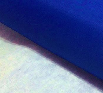 Nylon Dublado (Acoplado) Liso Azul Royal
