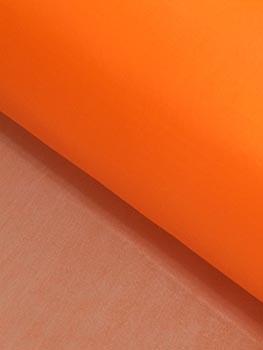 Nylon Dublado (Acoplado) Liso Laranja Fluorescente