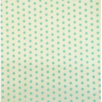 PVC Estrelas Tiffany Fd Branco