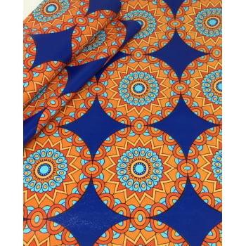 PVC Mosaico Mandala Azul