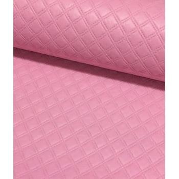 PVC Matelassado Duplo Chanel Rosa
