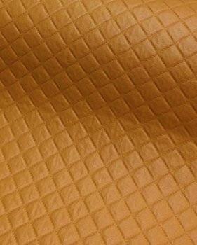 PVC Matelassado Dijon Caramelo