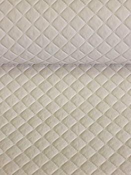 PVC Matelassado Dijon Marfim
