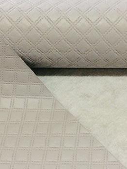 PVC Matelassado Duplo Chanel Cinza
