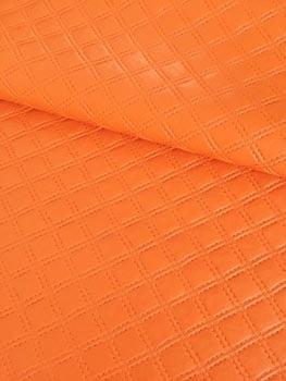 PVC Matelassado Duplo Chanel Laranja
