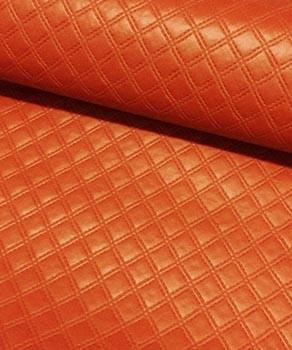PVC Matelassado Duplo Chanel Páprica