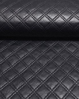 PVC Matelassado Duplo Chanel Preto