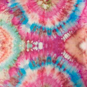 Tecido Microfibra Dublado Tie Dye