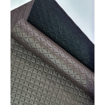 PVC Dijon Texturizado Marrom