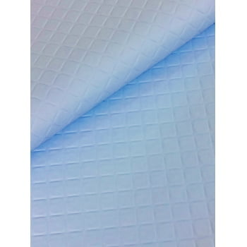PVC Matelassado Dijon Azul Claro