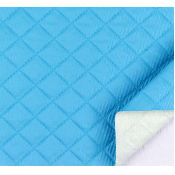 PVC Matelassado Dijon Azul Médio