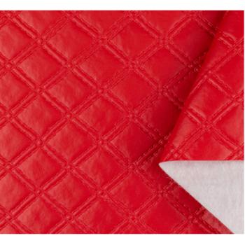 PVC Matelassado Duplo Chanel Vermelho