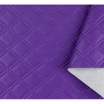 PVC Matelassado Duplo Chanel Violet