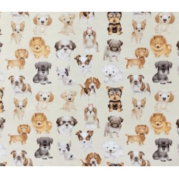 Tecido Digital Cãezinhos
