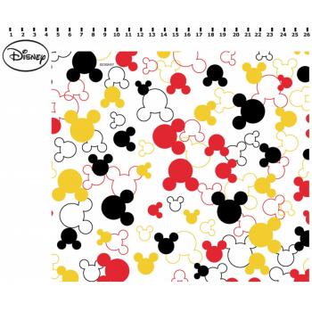 Tecido Silhueta Mickey