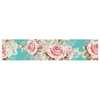 Faixa Digital Pano de Copa Ref 7107 Floral