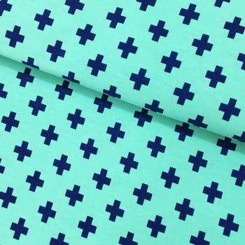 Tecido Geometrico Plus Marinho Fd Tiffany